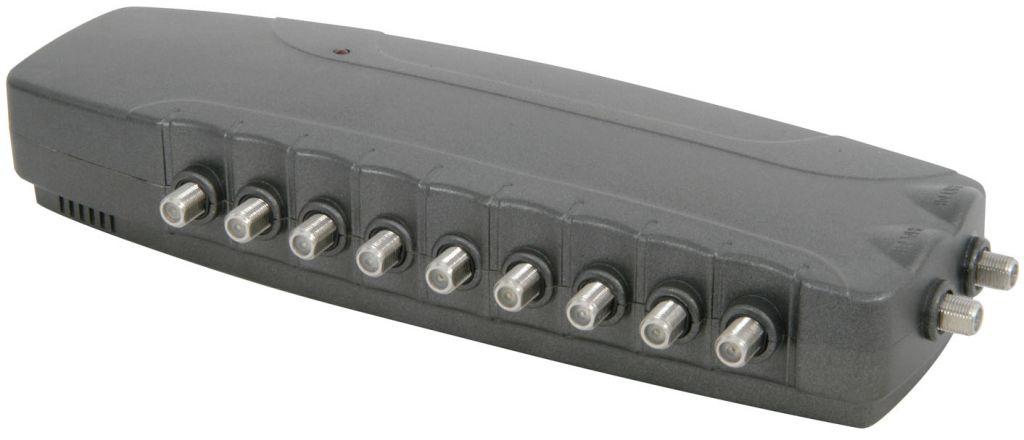Mercury 2 Inputs 8 Outputs Distribution Amplifier F-type 148.556UK
