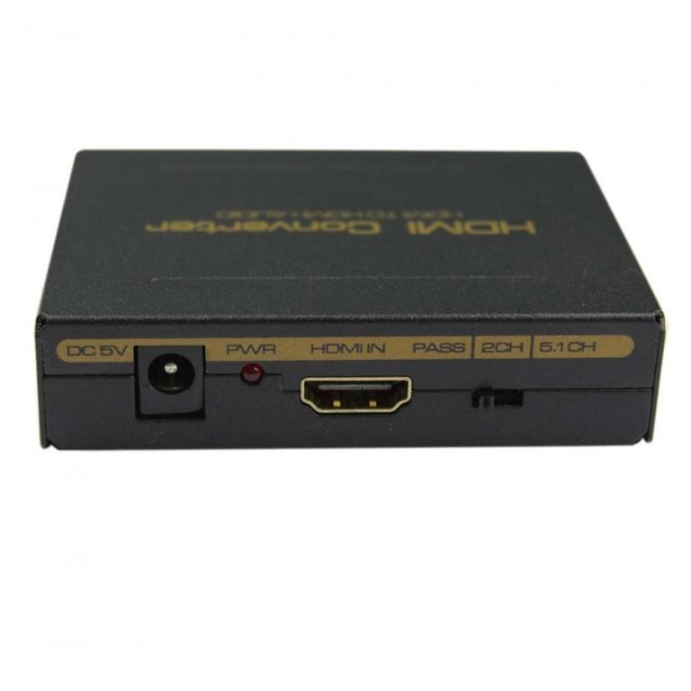 DigitMX DMX-CHHS2 HDMI to HDMI+Audio Converter