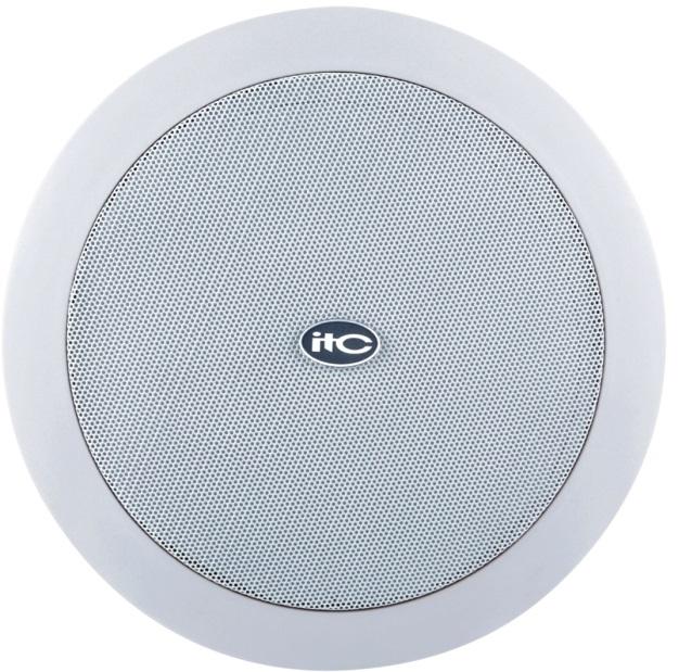 ITC T-208B 8'' 100V Ceiling Speaker 15W White