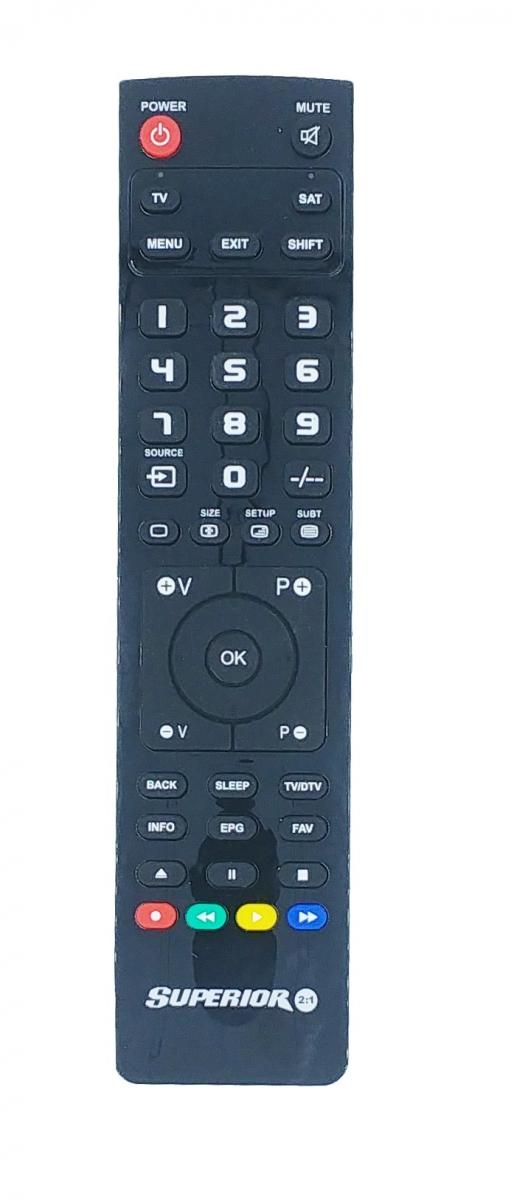 Superior 2in1 TV/Digital PC Programmable Remote Control