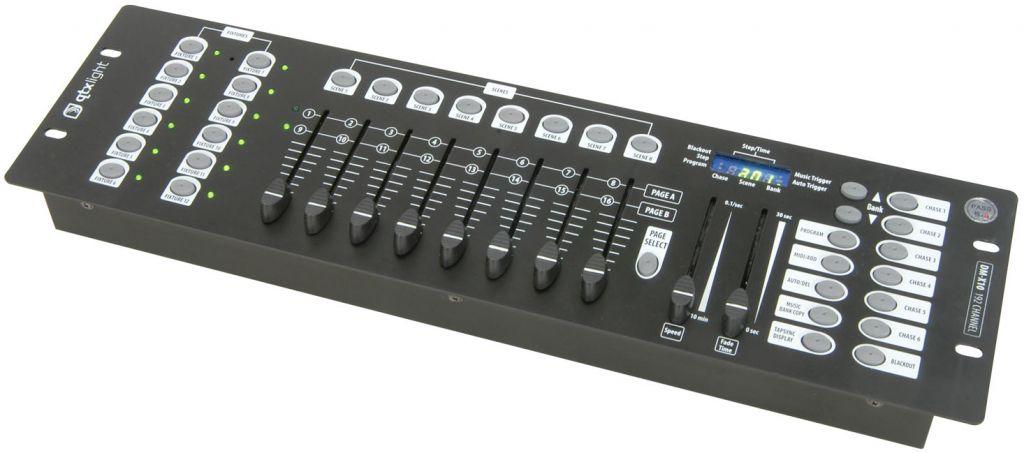 QTX Light DM-X10 192 CHANNEL DMX CONTROLLER 154.091UK