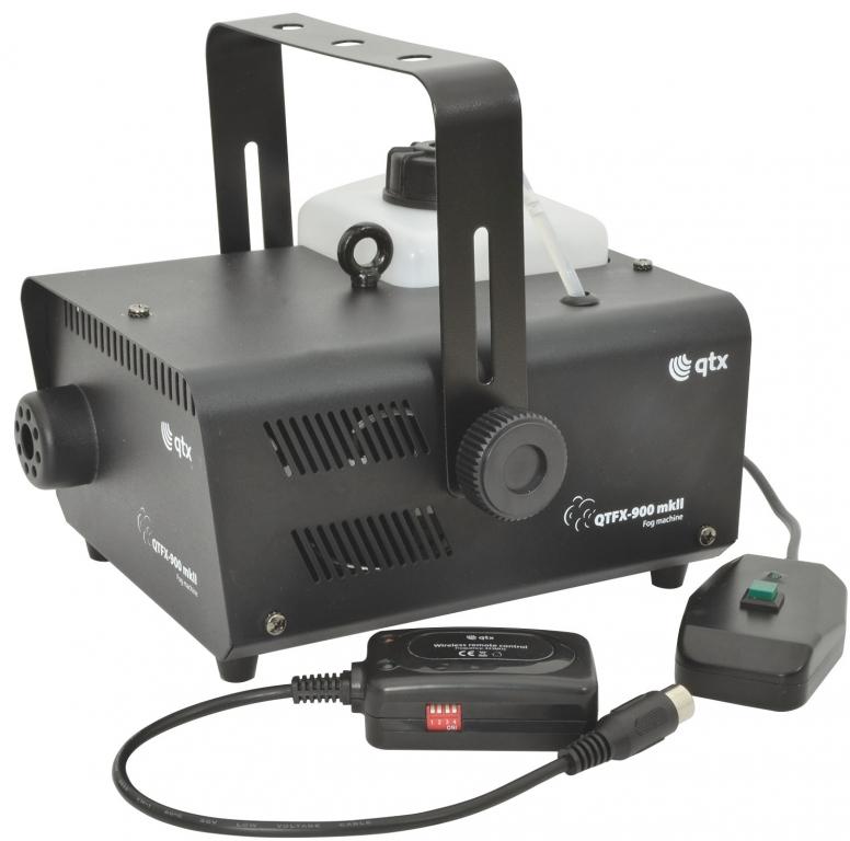 QTX QTFX-900 MKII Fog Machine 900W 160.463UK