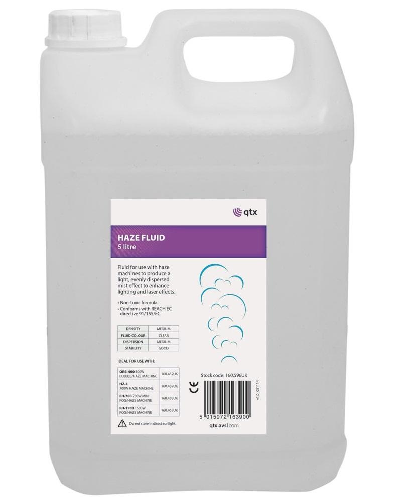QTX Haze Machine Fluid 5L 160.596UK