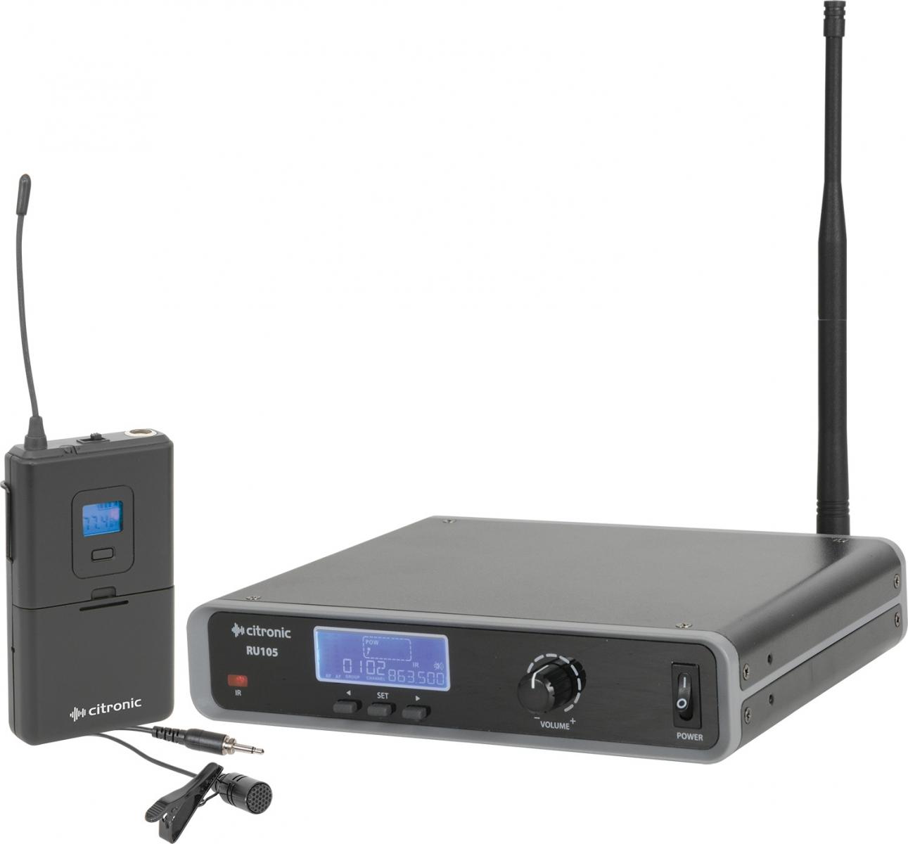 Citronic RU105-N Multi-UHF Neckband/Lavalier System 171.973UK