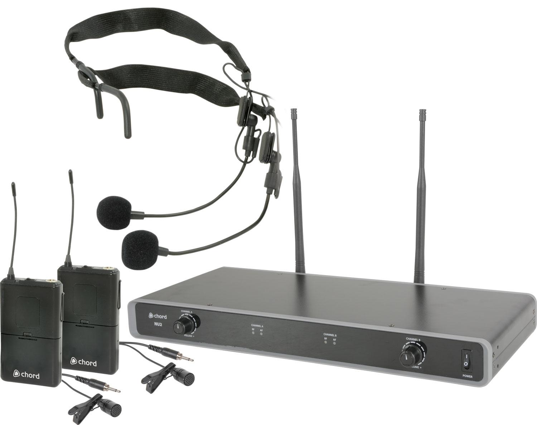 Chord NU2 Beltpack UHF Microphones 863.8+864.8MHz 171.977UK