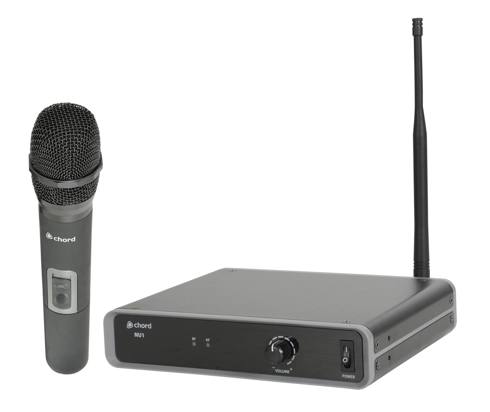Chord NU1-H UHF Wireless Handheld Microphone 864.1mhz 171.982UK