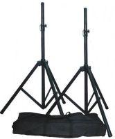 QTX Sound Steel Speaker Stands 35kg 1.9m with bag (PAIR) 180.550UK