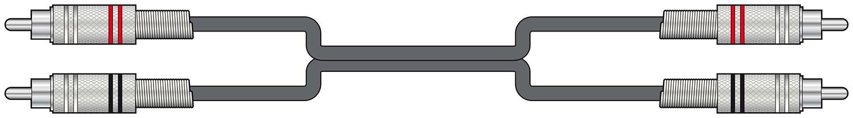 Chord Classic 2RCA-2RCA 6.0m 190.055UK