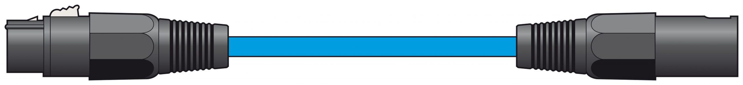 Chord Classic XLR M-F 1.5m Blue 190.092UK