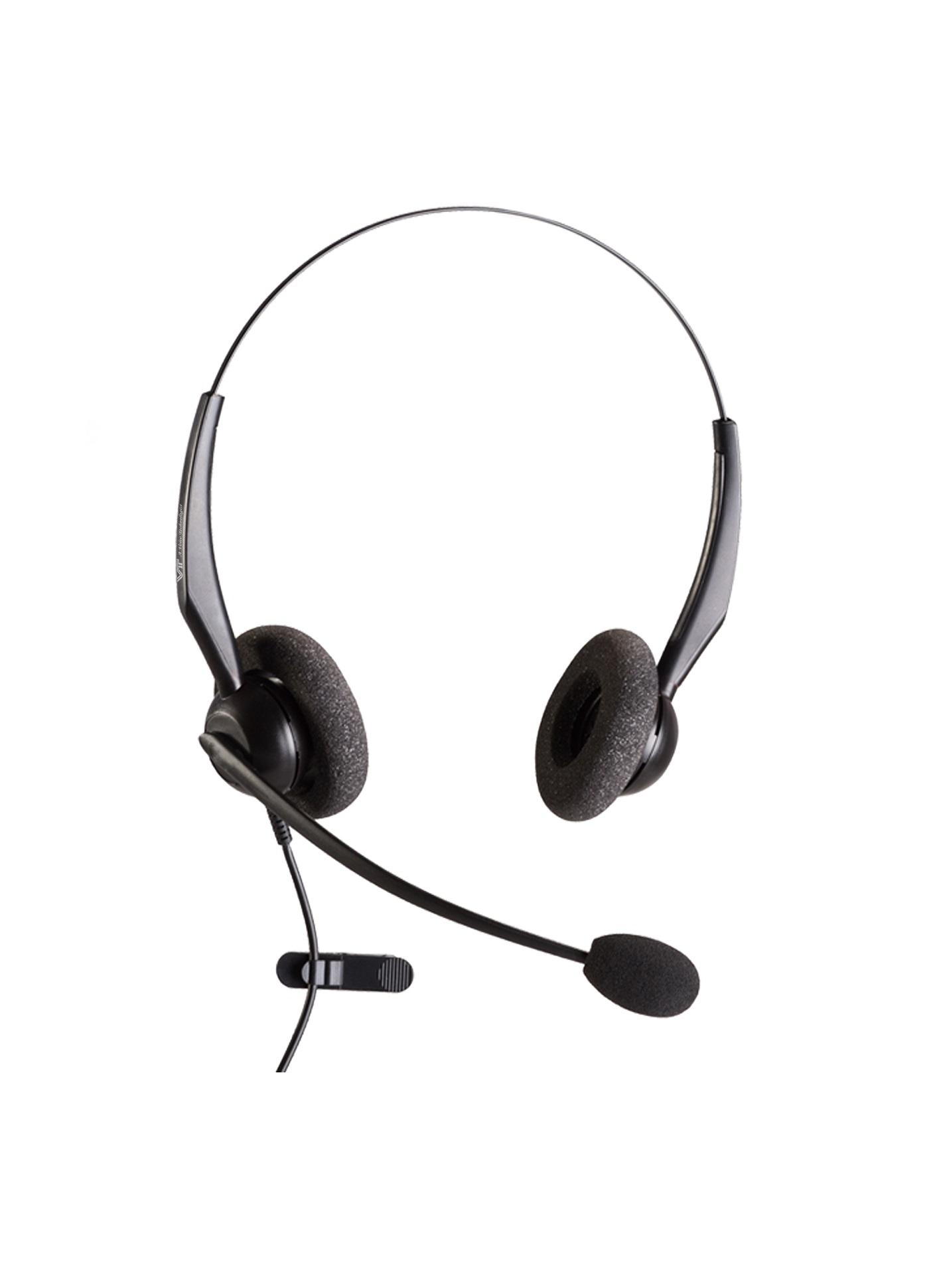 VT 2000NC-D Dual Noise Cancelling PC Headset USB