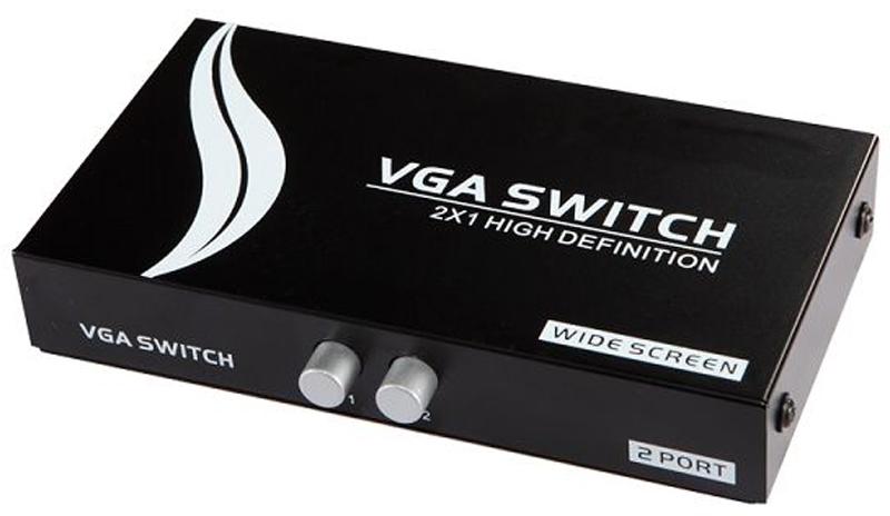 DigitMX DMX-VSW21B Mini VGA Switch 2x1