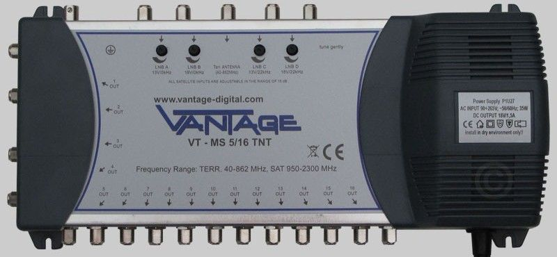 Vantage Multiswitch VT-MS5/16