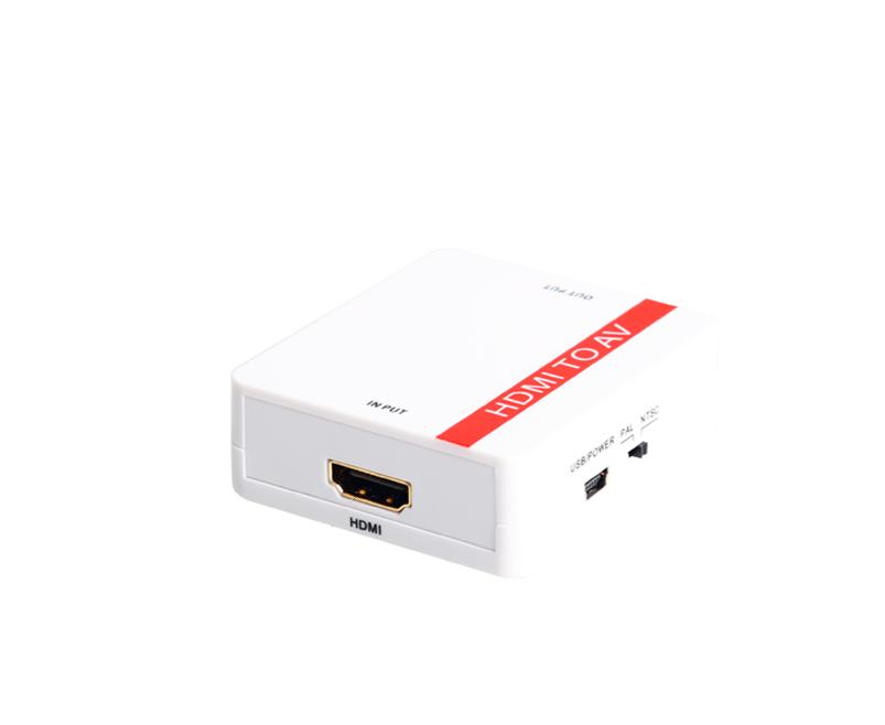 DigitMX DMX-CHAV5 HDMI to AV Converter USB
