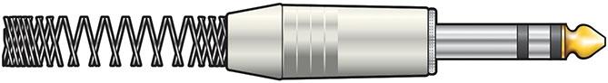 6.3mm Stereo Plug Metal Heavy 750.946UK