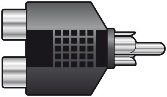 QTX RCA Plug to 2xRCA Sockets 760.246UK