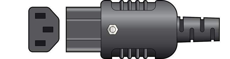 Mercury Heavy Duty In-line IEC Connector C13 776.246UK
