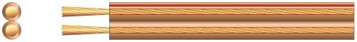 Mercury Speaker Cable 1.5mm Transp.100m 807.049UK