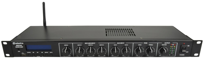 Adastra MM3260 Rackmount Amplifier USB/FM/BT/120W 953.029UK