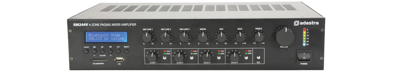 Adastra RM244V v2 4Z 240W FM/USB/BT with Paging 953.244UK