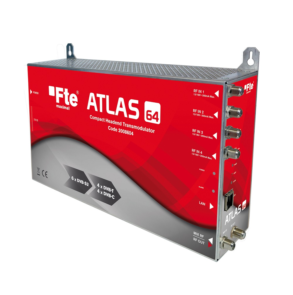 FTE ATLAS 64 Compact Transmodulator 6in-4out