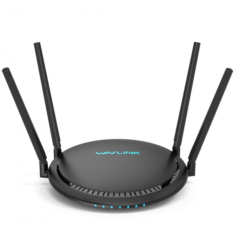 WavLink QUANTUM D4G Wireless AC1200 Gigabit Router with Touchlink