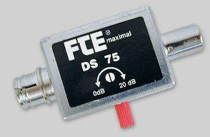 FTE DS75 Attenuator Variable IEC Type 16db
