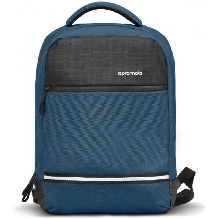 Promate ExplorerBP 13'' Laptop Backpack USB Blue