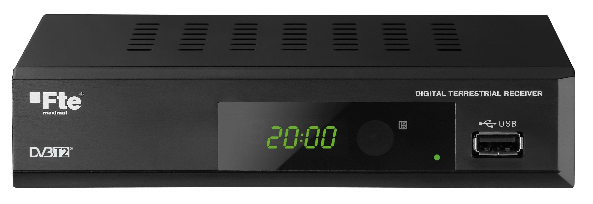 FTE MAXT200HD DVB-T2 Full HD MPEG4 Receiver