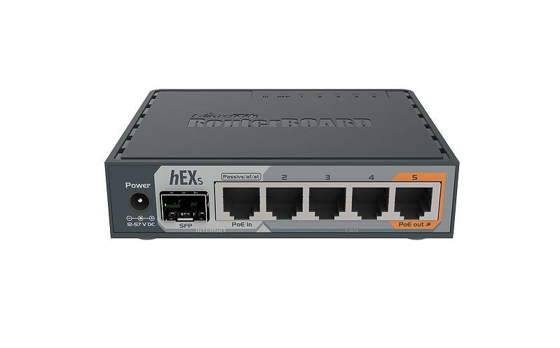 MikroTik RB760iGS hEX S Gigabit Router SFP