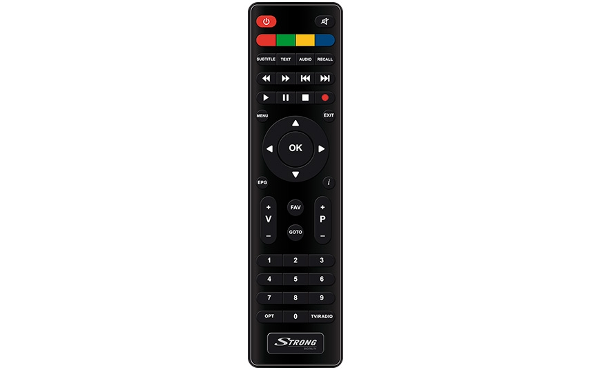 Remote control for Strong SRT7004 & Thomson THS221