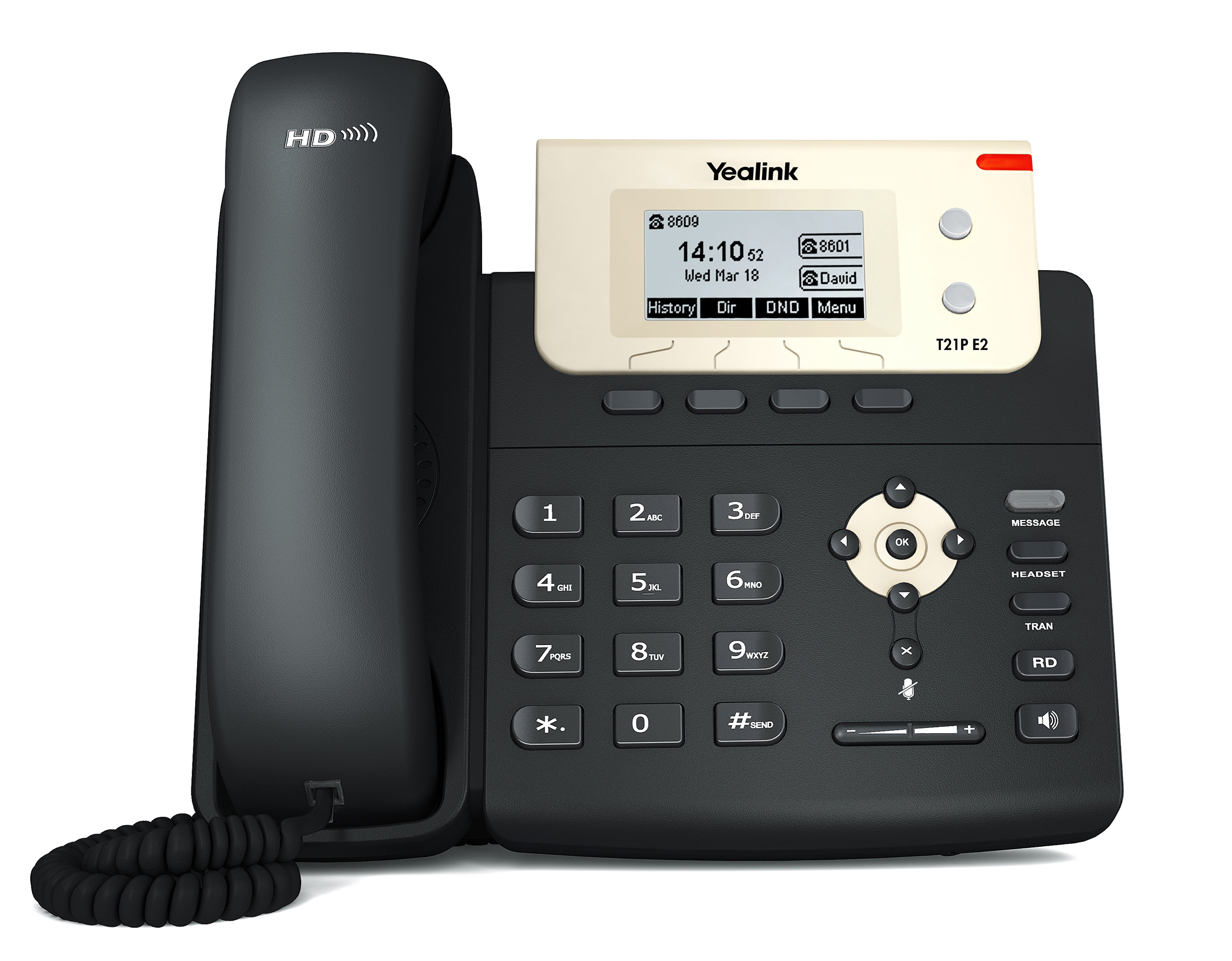 Yealink T21PE2 Entry Level IP Phone with P/S