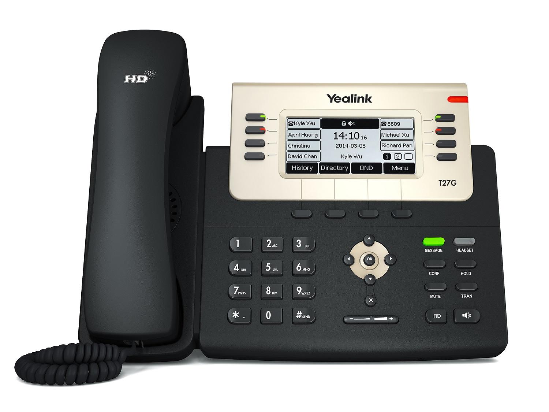 Yealink T27G Mid-Range Gigabit IP Phone