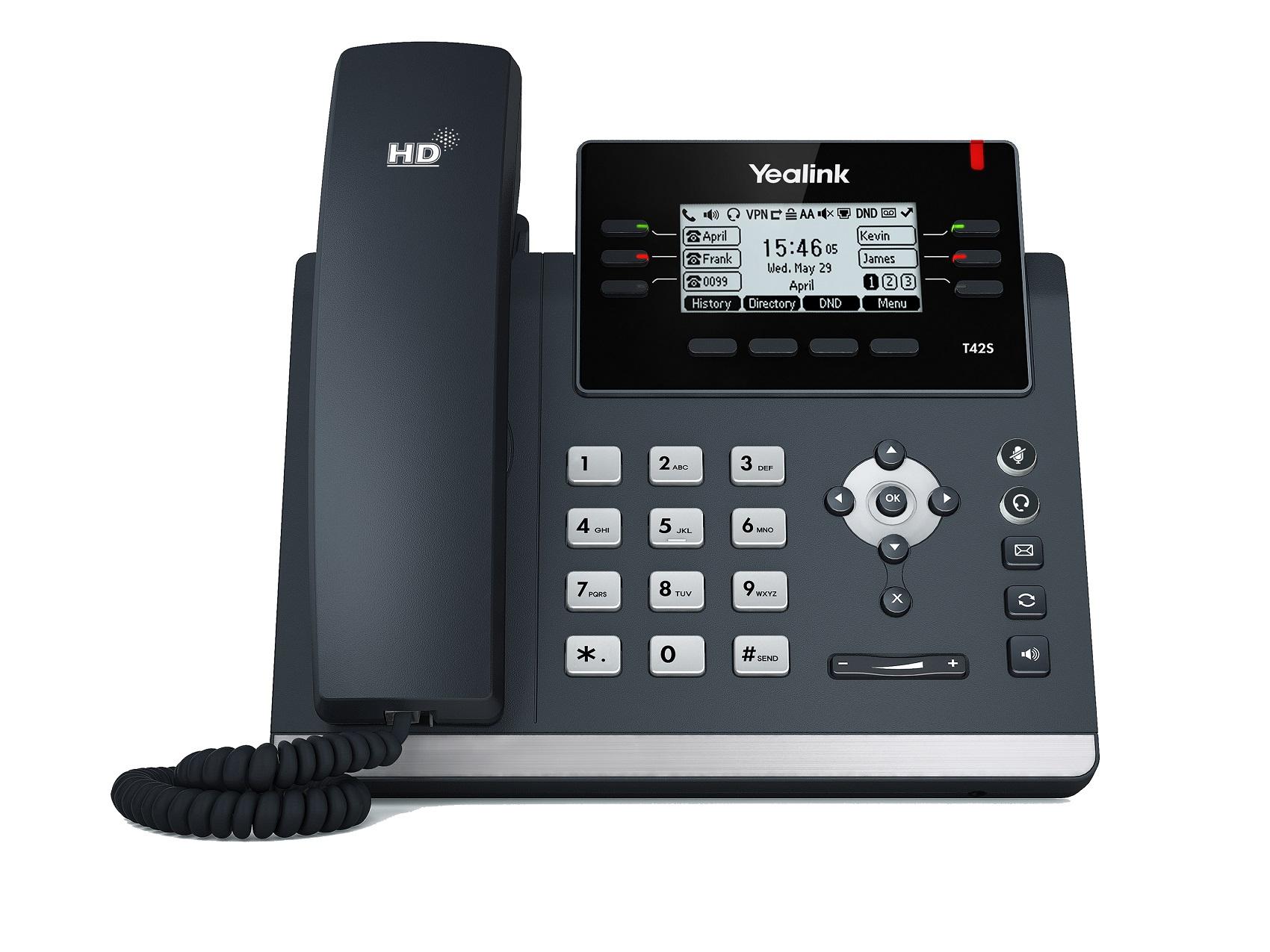 Yealink T42S Business Gigabit IP Phone