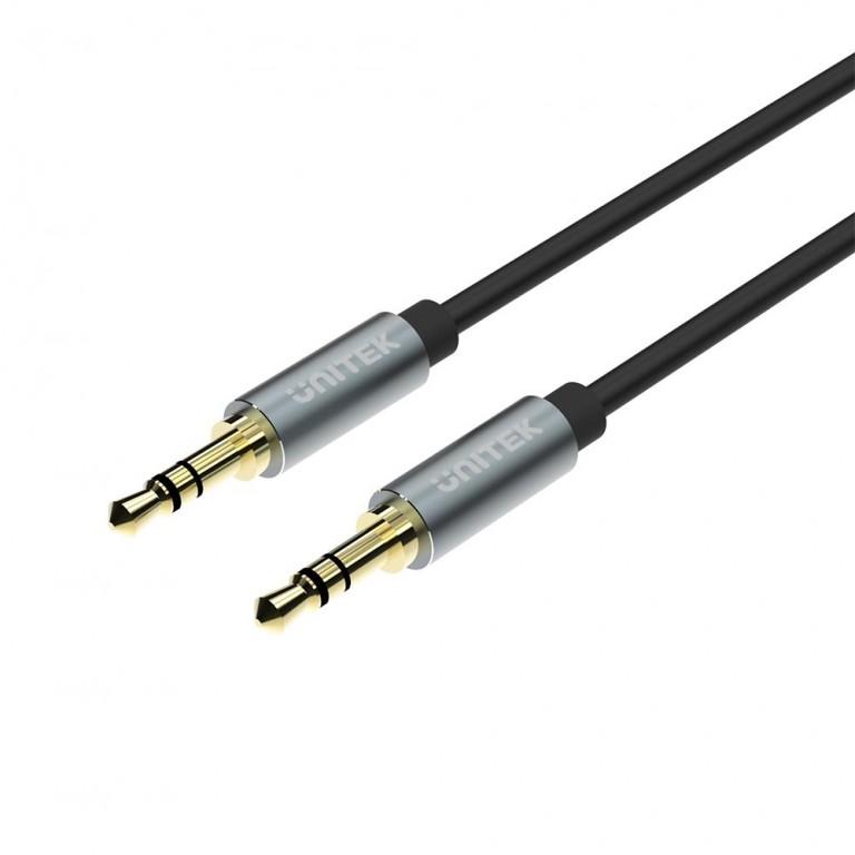 Unitek Y-C922ABK 3.5mm to 3.5mm Audio Cable 1.5m