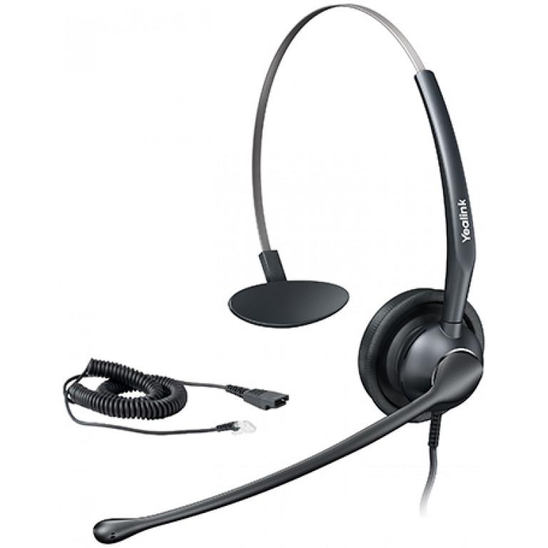 Yealink YHS33 Wired RJ9 Headset for IP Phones