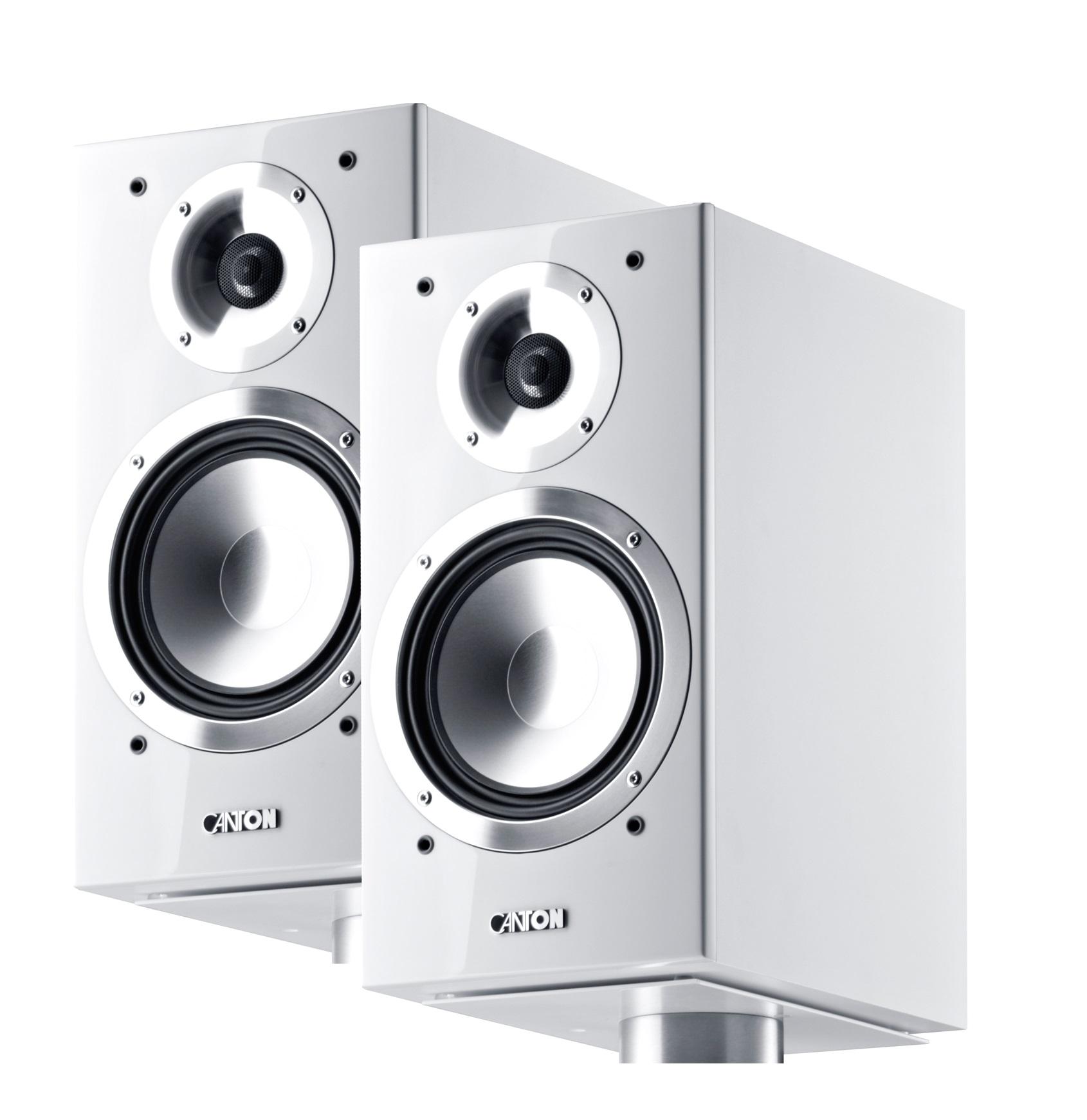 OPEN BOX Canton Chrono 503.2 White Speaker (PAIR)