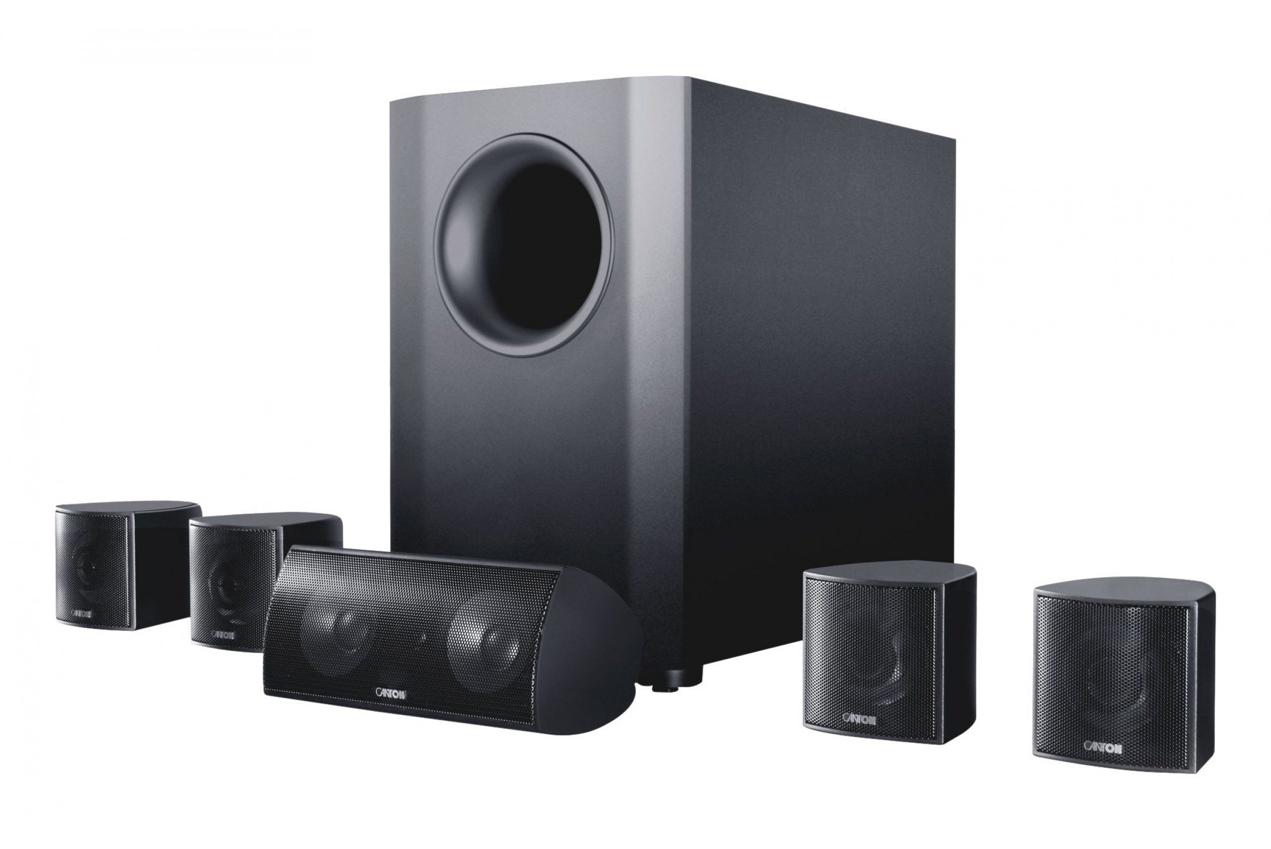 Canton Movie70 600W 5.1 Speaker Package with Subwoofer Black