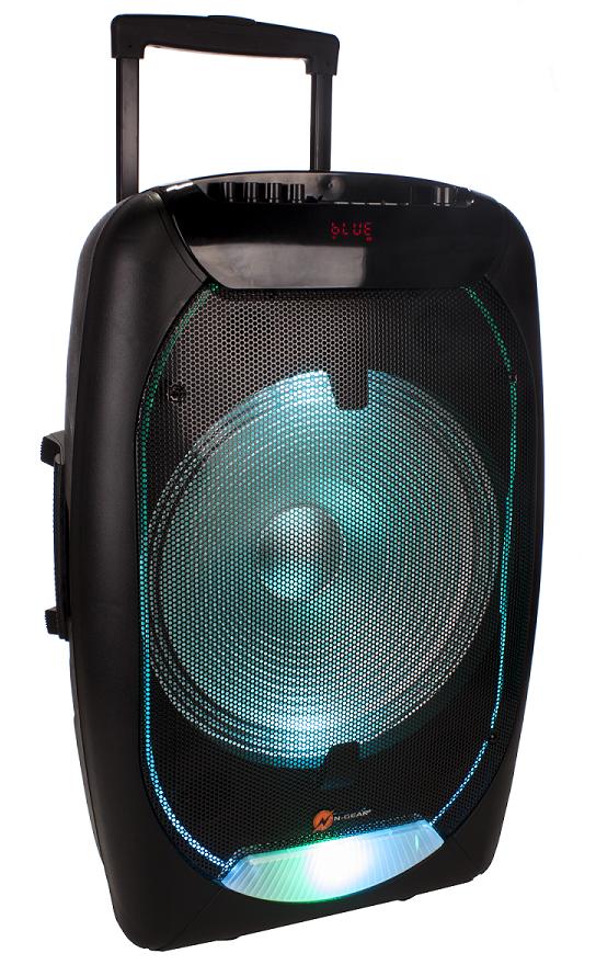 N-Gear FLASH1510 15'' Portable Speaker BT/USB/Mic