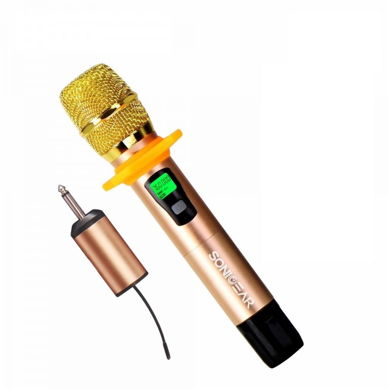 SonicGear WMC 6000 Wireless Microphone with receiver