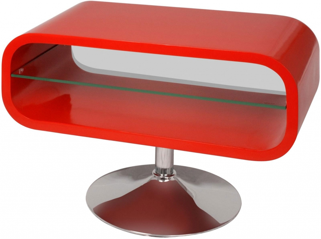 Techlink OP80R Opod TV/HiFi Rack Red