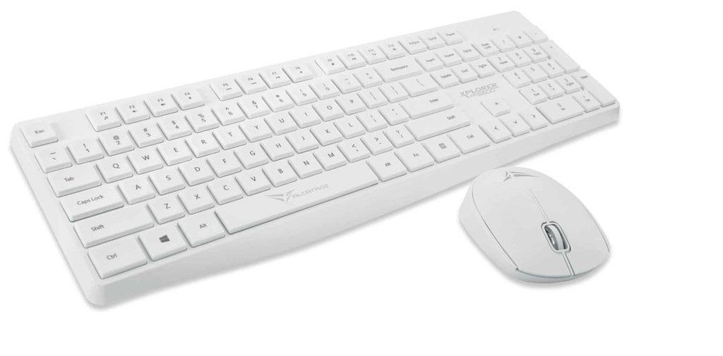 Alcatroz XplorerAir6600 Wireless Keyboard/Mouse White