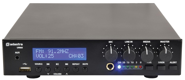 Adastra UM60 100V Compact Amp 60W 953.176UK