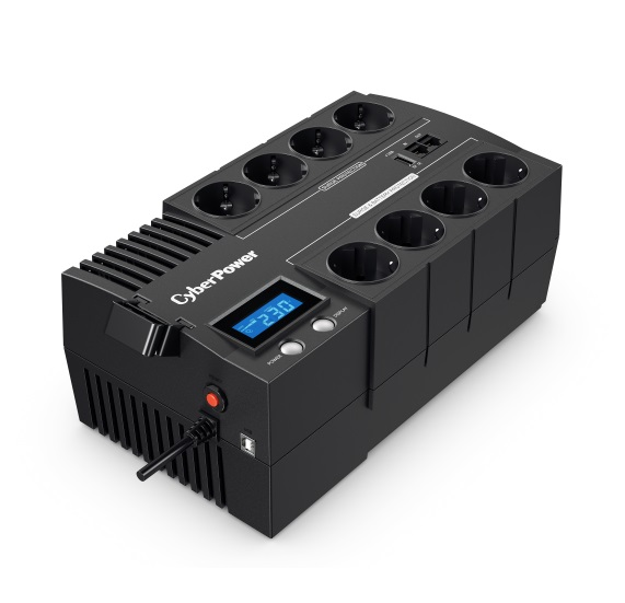 CyberPower BR1000ELCD 1000VA/600W Brick Line Interactive UPS LCD EU