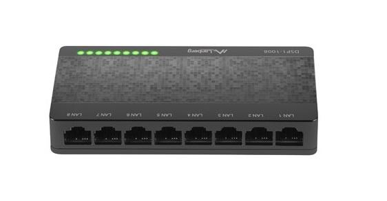 Lanberg DSP1-1008 Ethernet Switch 8port Gigabit
