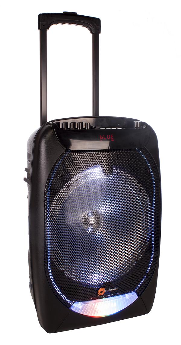 N-Gear FLASH1210 12'' Portable Speaker BT/USB/Mic