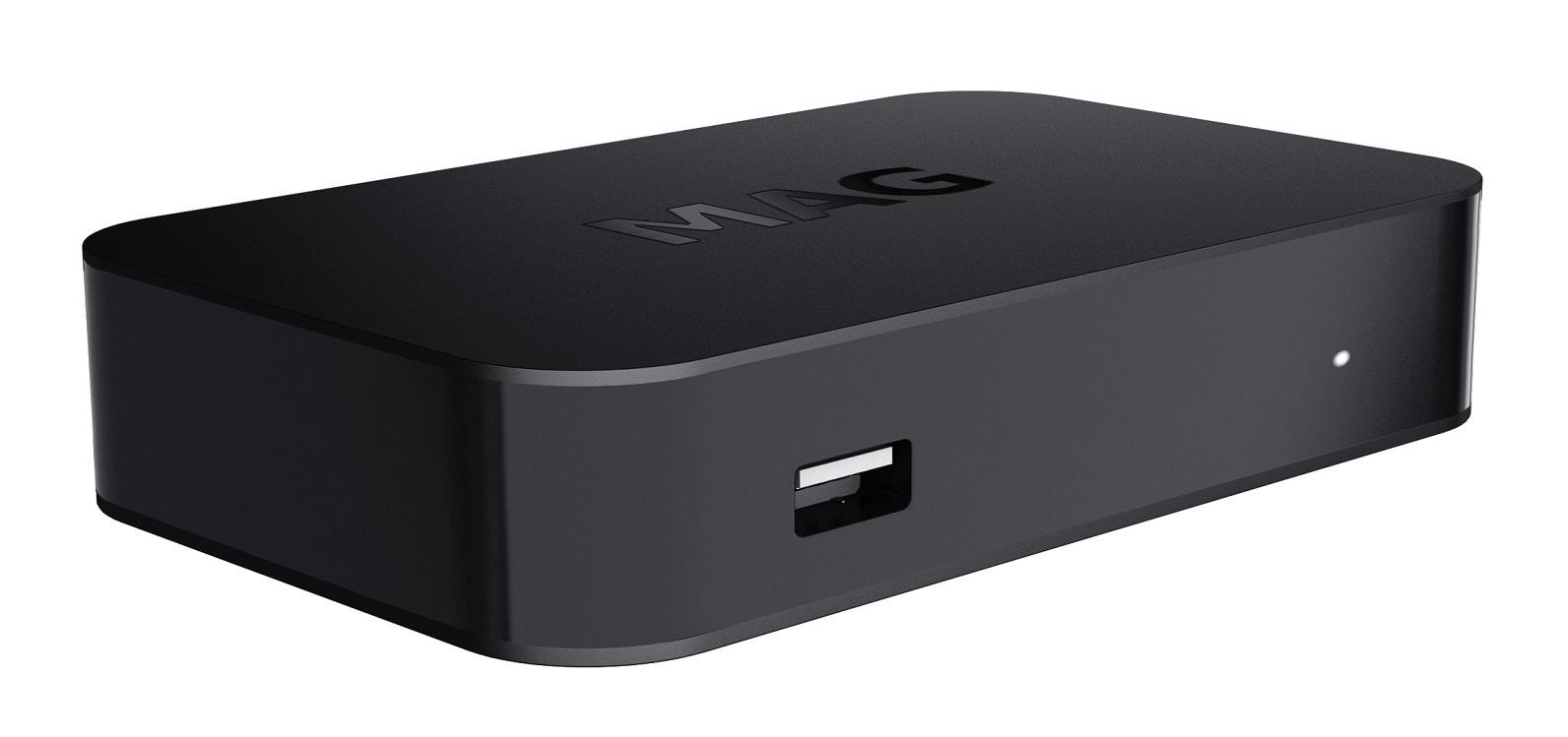 MAG420 IPTV Set-Top Box UHD 4K